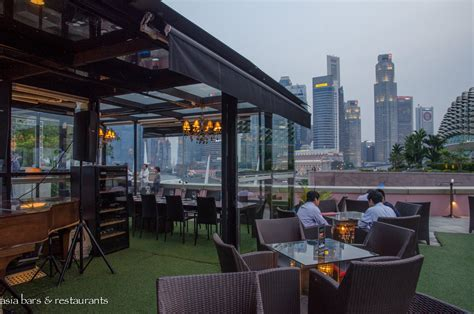Roof Top Bar Singapore by Orgo Rooftop Bar Restaurant In Singapore Asia Bars