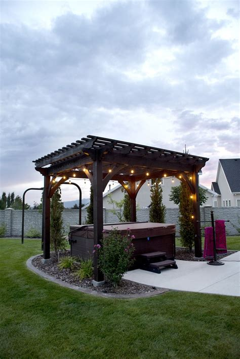 best 25 tub pergola ideas on outdoor