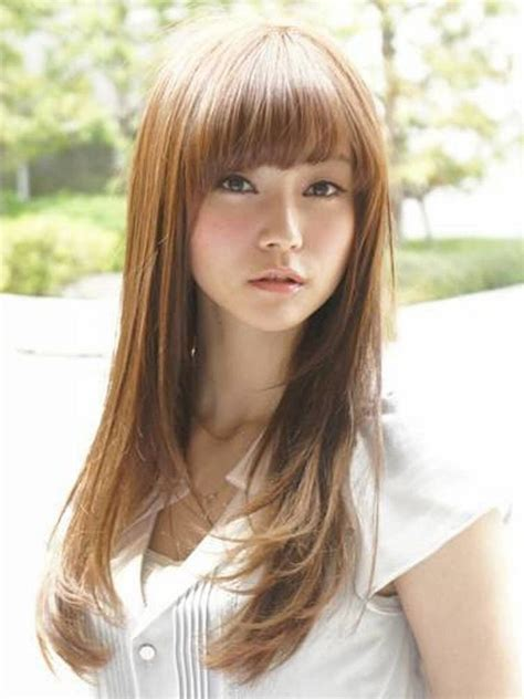 Asian Hairstyle by 14 Prettiest Asian Hairstyles With Bangs For The Sassy