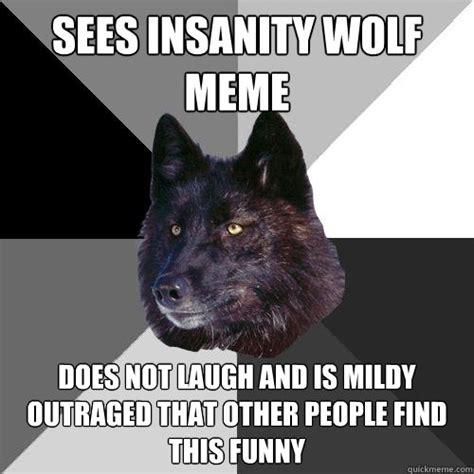 Wolf Meme Generator - insanity wolf meme quickmeme