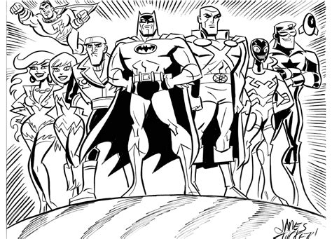 printable coloring pages justice league dc comic movie superhero justice league coloring pages