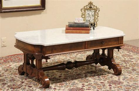 coffee table glamorous white marble top coffee table faux