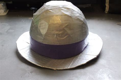 How To Make A Bowler Hat Out Of Paper - duct bowler hat