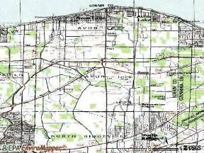 Avon Ohio Map by Avon Ohio Oh 44011 Profile Population Maps Real