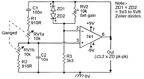 zener diode used as lifier op cookbook part 3 nuts volts magazine for the electronics hobbyist
