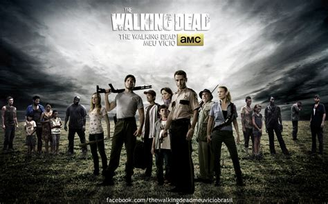 Poster Serial Tv The Walking Dead Cast 2 40x60cm the walking dead season 1 review dustmeselecta