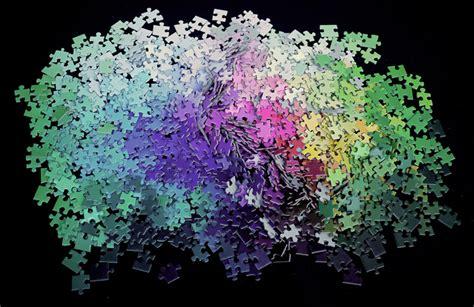 5000 colors puzzle 1000 cmyk color gamut jigsaw puzzle by designer clemens habicht bored panda