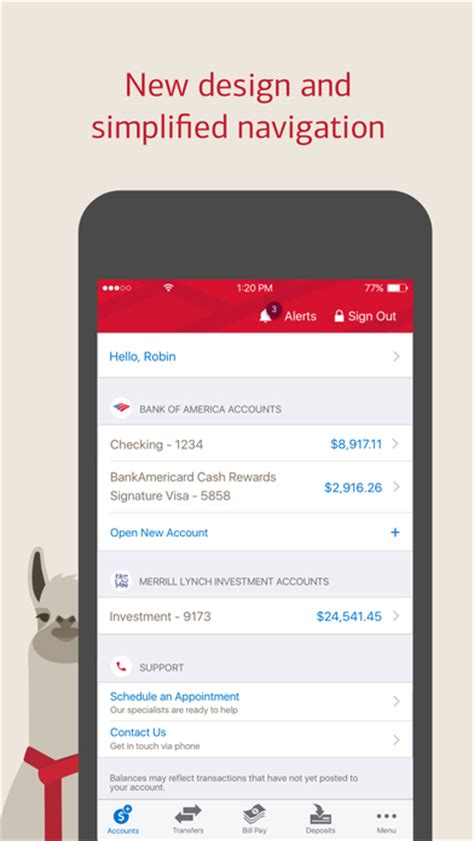 bank of america android app bank of america mobile banking app android apk