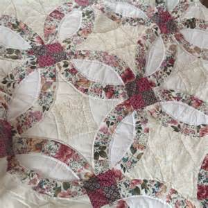 shabby chic patchwork shabby chic vintage patchwork quilt in burgandy and