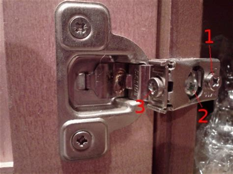 how to adjust cabinet door kitchen cabinet door hinges adjustments roselawnlutheran