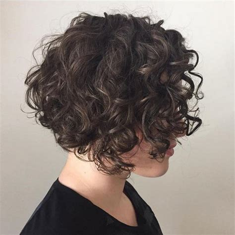 short haircuts for loose curly hair short curly hairstyles that will give your spirals new
