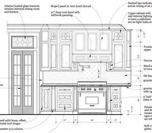 Kitchen Elevation Dwg Kitchen Elevation Drawing Wesharepics