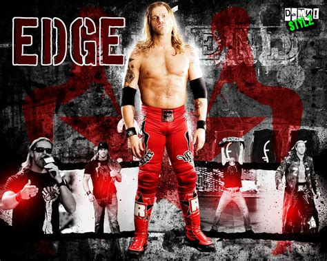wallpaper of edge wrestling hits march 2012