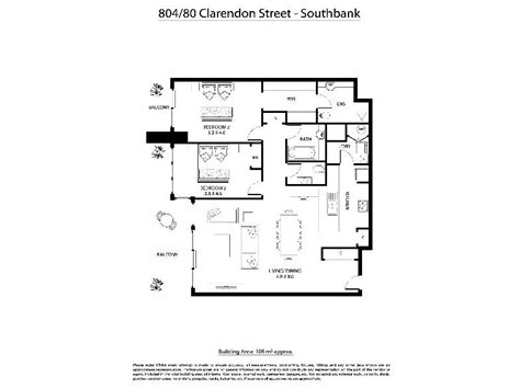 southbank floor plan apartment 804 at clarendon towers serviced apartments southbank accommodation booked 27th