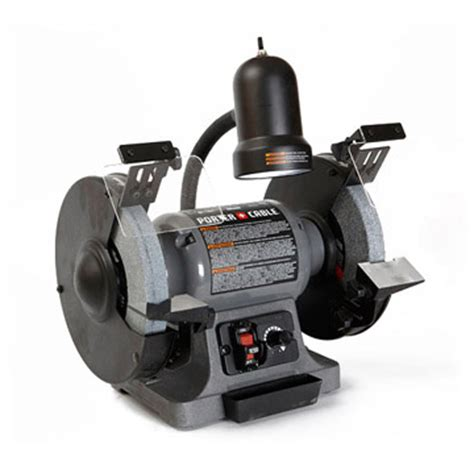 porter cable bench grinder our editors test bench grinders for woodworkers porter cable pcb575bg 8 quot 119