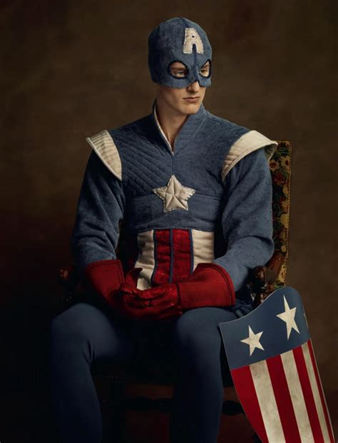 Captain America Wardrobe by Captain America Photos Flemish Photo Series