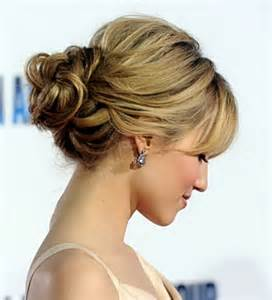 side buns for shoulder length hair side major princess braid low curly bun hair style