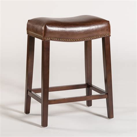 saddle stool saddle bar stool alder tweed furniture