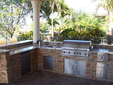 backyard outdoor kitchen backyard grill area 2017 2018 best cars reviews