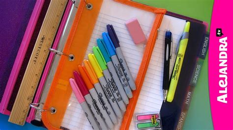 youtube organizing back to school organization how to organize your binder