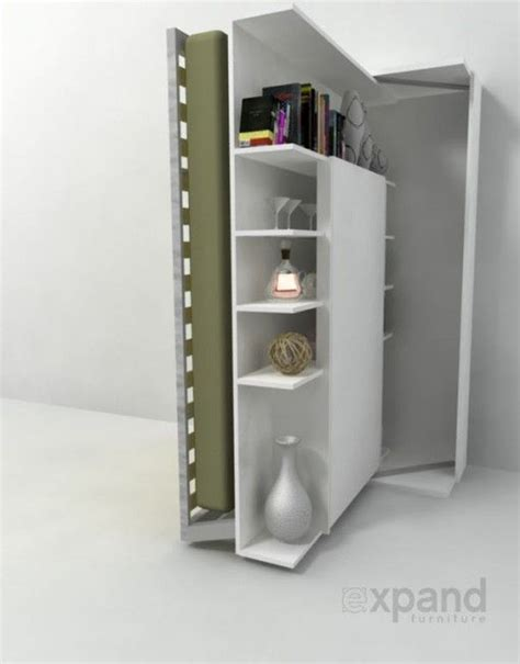 revolving bookcase murphy table italian revolving bookcase wall beds and beds on pinterest