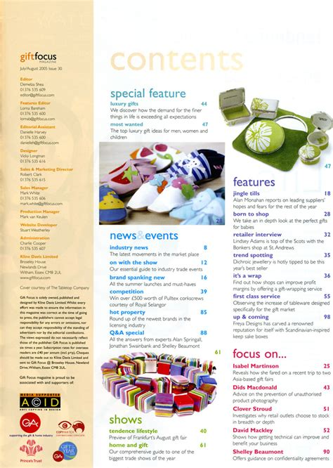 magazine design content page beachy s blog