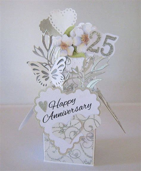 25th Wedding Anniversary Card Box by 511 Best Pop Up Box Cards Images On Pop Up