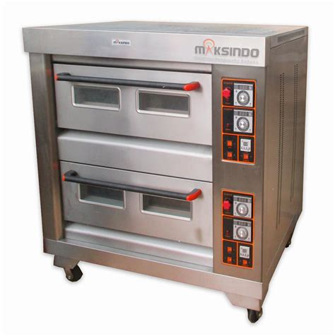 Oven Gas Roti mesin oven roti gas 4 loyang mks rs24 toko mesin