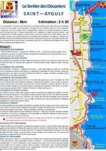 brochure chemin des douaniers