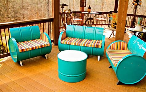 sofa drum yuk bikin sofa dan lemari dari drum bekas rumah dan