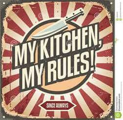 vintage kitchen sign stock vector image 53950020