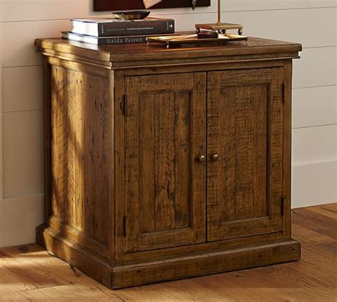 Wood Cabinets by Hatton Reclaimed Wood Cabinet Pottery Barn