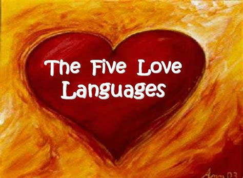 the 5 love languages relationship and love languages of love