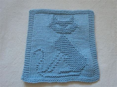 knitting pattern cat dishcloth 1288 best images about torchon lingette on pinterest