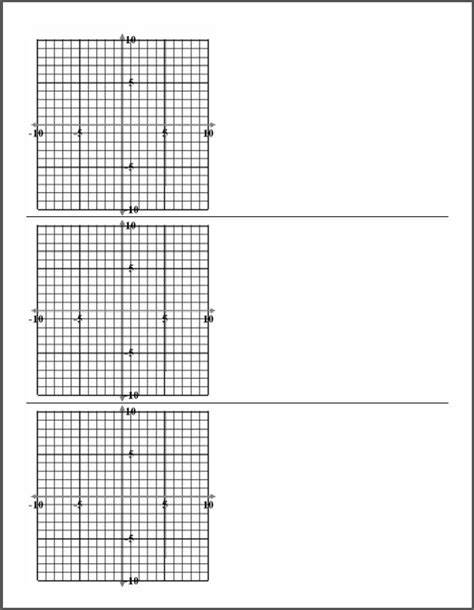 printable graph paper with 6 graphs mrclee com printable graph paper