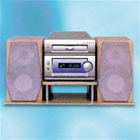 Speaker Vcd mini component vcd cd mp3 player set with fm am radio and channel speaker system global