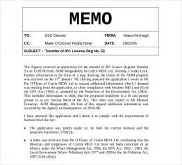 template of memo memo templates 6 free word pdf documents