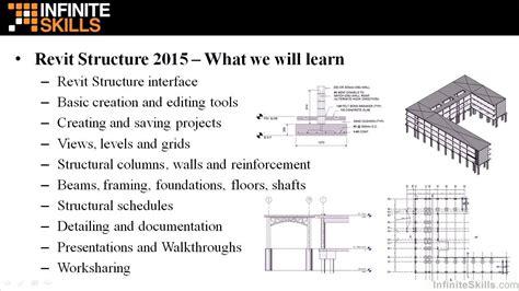 tutorial revit structure 2015 revit structure 2015 tutorial overview youtube