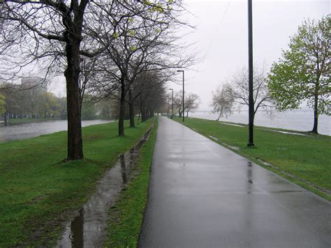 For A Rainy Day by File A Rainy Day At The Charles River Esplanade In Boston