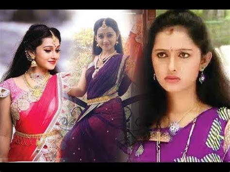 agnisakshi heroine family photos agni sakshi serial heroine gouri real life photos youtube