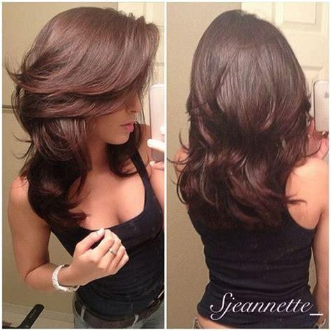cut hair styles long hair styles for women haircuts layered cut medium