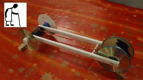 Lets make a rubber band powered car 1 youtube