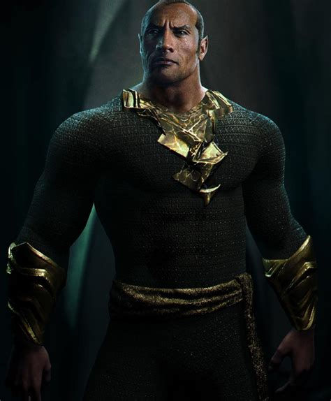 The Black dwayne johnson explains why he took the iconic of