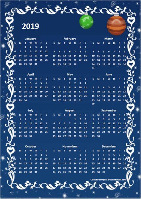yearly calendar design template  printable templates