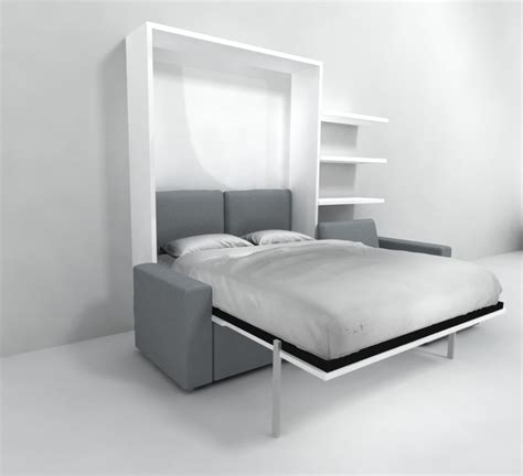 wall bed over sofa clean murphysofa sectional wall bed expand furniture