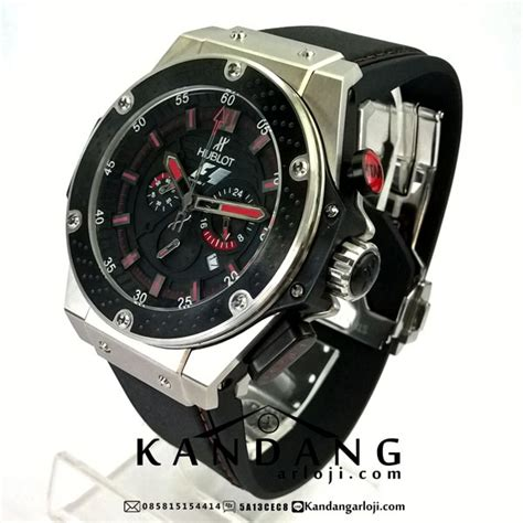 Jam Tangan Pria Seven Friday Silver And Black hublot f1 king power silver black saat dipegang jam