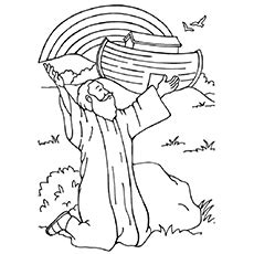 christian rainbow coloring pages rainbow coloring page for kindergarten murderthestout