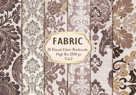 damask pattern brush 20 damask fabric brushes abr vol 2 free photoshop