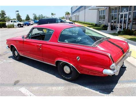 1965 plymouth barracuda for sale classiccars cc 982861
