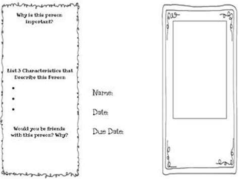 biography brochure templates 2nd grade biography rubric 1000 images about rubrics on